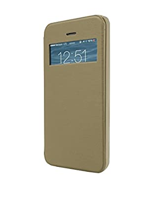UNOTEC Funda Flip-S iPhone 5 / 5S Dorado