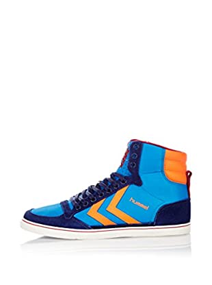Hummel Sneaker Slimmer Stadil Poly Hg (blau)
