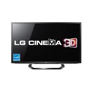 """LG 42LM6200 3D 42"""" LED Television-Black"""