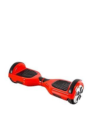 BALANCE RIDERS Skateboard Elettrico Hoverboard S6+ Rosso