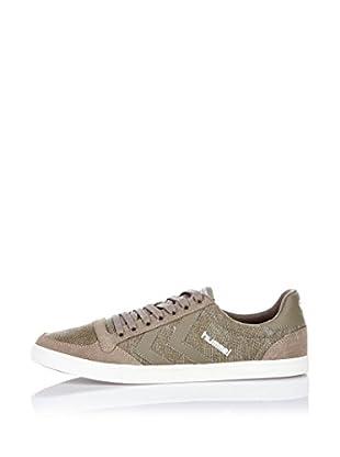 Hummel Sneaker Slim Stadil Washed Low (khaki)