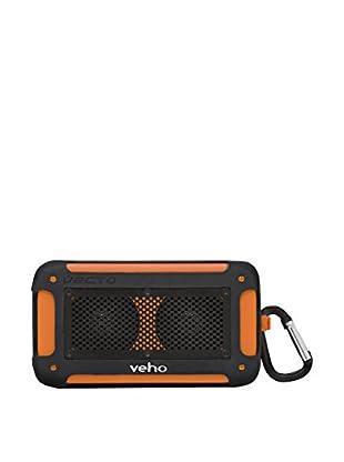 Veho Mini-Stereo-Lautsprecher Vxs-003-Vm  schwarz/orange