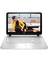 HP Pavilion 15-P018TU 15.6-inch Notebook PC with Intel Core i3-4030U Processor (Snow White)