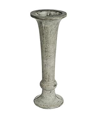 My Spirit Garden Eco-Concrete Delphi Vase, Stone Grey