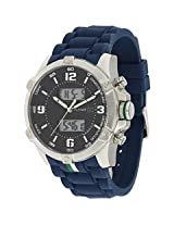 Tommy Hilfiger Designer Analog-Digital Black Dial Men's Watch - TH1790784