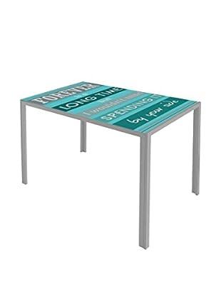 Easy Home Tisch Dahl D1 türkisgrün