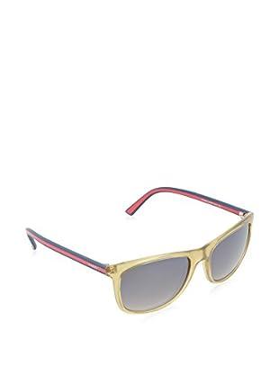 GUCCI Gafas de Sol 1055/ S NQ 0VW (55 mm) Ocre / Rojo