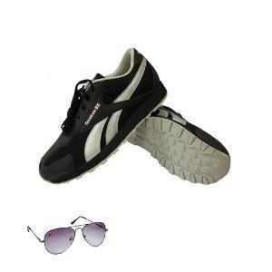 Reebok Aviator Black Shoes Hamper