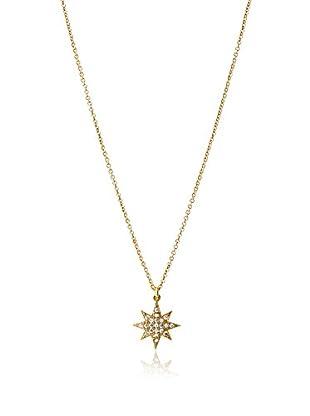 Chloe & Theodora CZ North Star Pendant Necklace