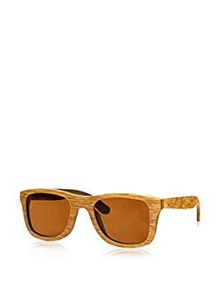 Time For Wood Sonnenbrille Polarized Castana (50 mm) braun