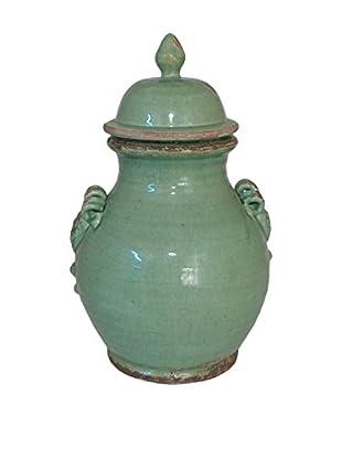 Three Hands Ceramic Temple Jar