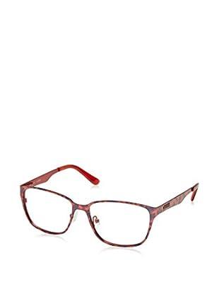 Guess Montatura GU2471 (54 mm) Rosso/Blu