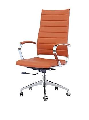 Manhattan Living Sopada Conference Office Chair, Light Brown