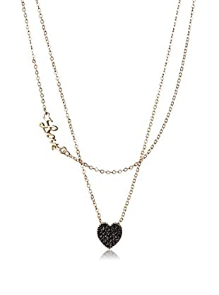 Jules Smith Love and Black Heart Necklace