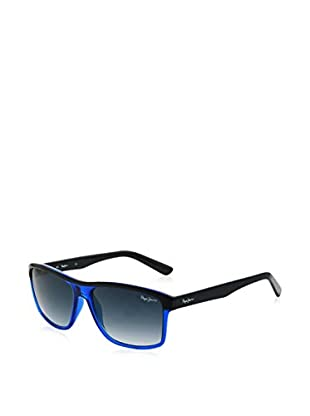 Pepe Jeans Sonnenbrille 7148C256 (56 mm) blau/schwarz