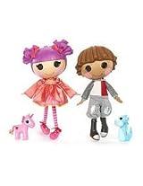 Lalaloopsy Twin Dolls Sir Battlescarred And Lady Stillwaiting