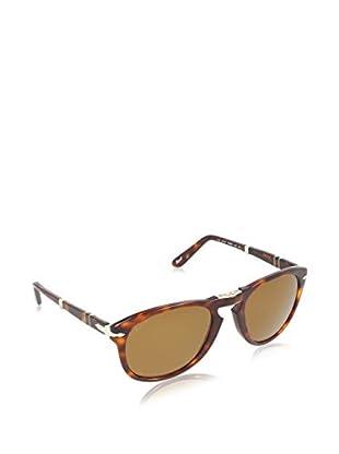 PERSOL Sonnenbrille Polarized PO 714 24/57 54 (54 mm) havanna