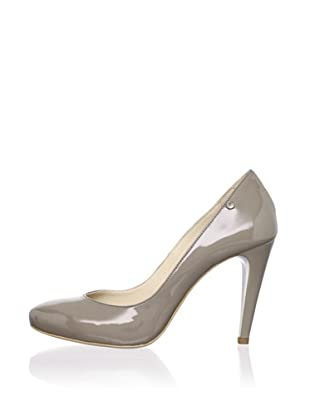 C'N'C CoSTUME NATIONAL Women's Patent Pump (Taupe/Grey)