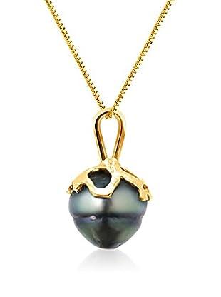 Pearl Addict Halskette 18 Karat (750) Gelbgold