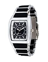 Exotica Black Dial Analogue Watch for Men (EFG-01-B-N)