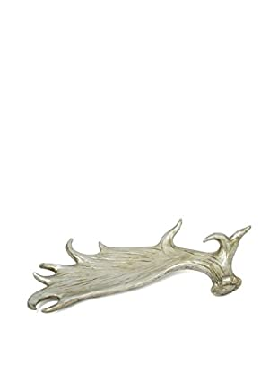 Three Hands Resin Table Decor, Silver