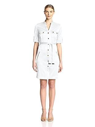 Sharagano Women's Shirt Dress