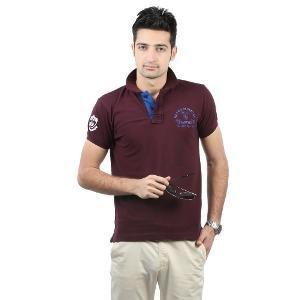 Blumerq Men's Polo T-shirt - Maroon
