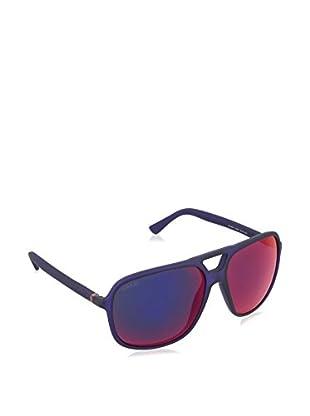 GUCCI Sonnenbrille 1091/S CP 74C (60 mm) blau