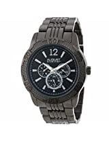 August Steiner Multi-Function Black Metal Mens Watch As8058Bk