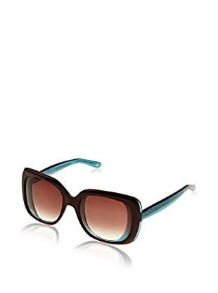 Bottega Veneta Sonnenbrille B.V. 228/S_13J (56 mm) braun/himmelblau