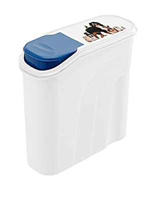 Rotho Set Contenedor de Comida para Animales 4 Uds. 6 L Blanco/Azul