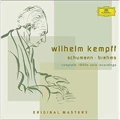 ヴィルヘルム・ケンプ(P) 1950年代のソロ録音集の商品写真