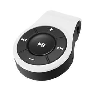 【クリックでお店のこの商品のページへ】GREEN HOUSE Bluetoothオーディオレシーバー クリップ付 ホワイト GH-BHARCW: 家電・カメラ