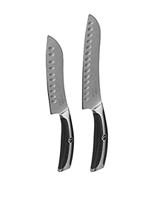 Lenox Forged Series German Steel 2-Piece Santoku Set