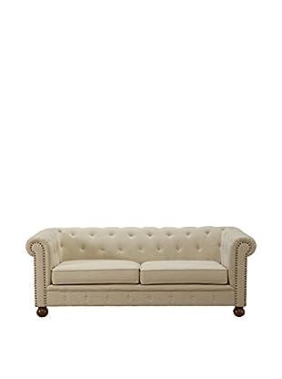 Armen Living Winston Sofa, Beige