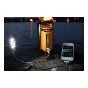 日本未発売 Bio Lite Camp Stove バイオライト キャンプストーブ 焚き火の熱で充電できる