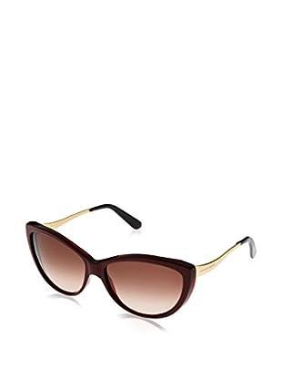 Alexander McQueen Gafas de Sol AMQ4147/N/S (61 mm) Burdeos