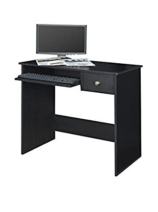 Niche Desk With Pencil Drawer, Ebony