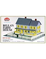 Model Power HO Scale Building Kit - Bella's Farm House