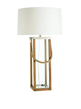 Arteriors Home Tate Tall Lamp, Light Walnut