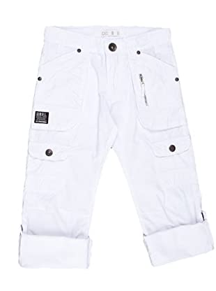 Naf Naf Chevignon Pantalón Ajustable (blanco)