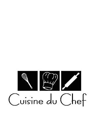 Ambiance Sticker Wandtattoo Cusine Du Chef