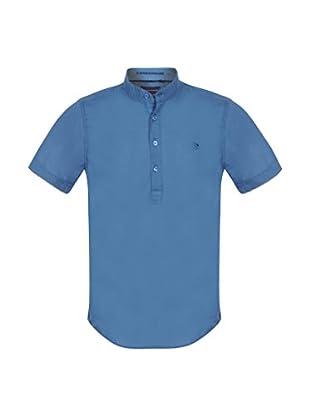 Giorgio Di Mare Camisa Básica Valdo (Azul Medio)