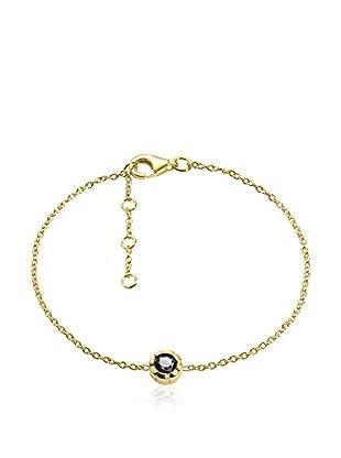 DI GIORGIO PARIS Armband Mb4Sab vergoldetes Silber 18 Karat