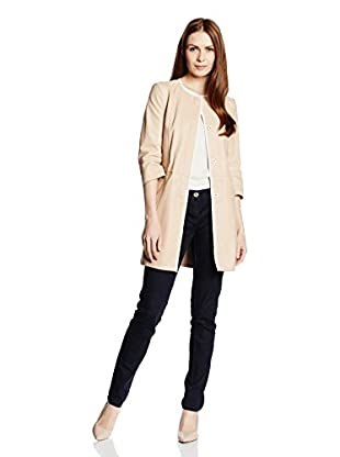 Trussardi Jeans Americana Piel Mujer