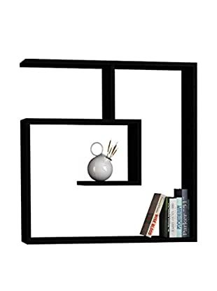 Best seller living Estantería De Pared Laby Negro