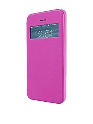 UNOTEC Funda Flip-S iPhone 5 / 5S Rosa