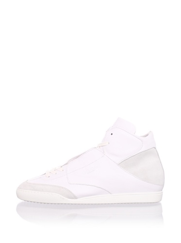 Calvin Klein Men's Hi-Top Sneaker (White)
