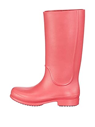 Crocs Botas de Agua Wellie Rain WCR (Rojo)