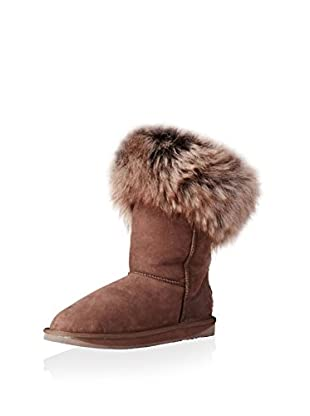 AUStralia Luxe Collective Womens Foxy Shearling Short Short Shearling Fur Trimmed Boot (Beva)